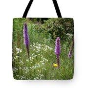 Prairie Blossoms Tote Bag