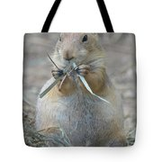Prairie Dog Food Tote Bag