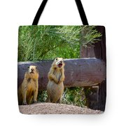 Prairie Dogs In Bryce Tote Bag