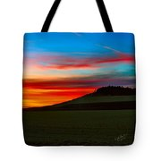 Prairie Fire Sunset Tote Bag