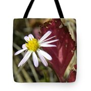 Prairie Flower And Red Lambs Quarter Tote Bag