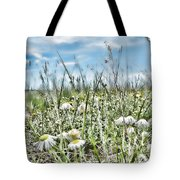 Prairie Flowers And Grasses Tote Bag