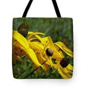 Prairie Flowers In Wind Tote Bag
