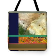 Prairie Grasses Amid The Rocks Tote Bag