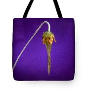 Prairie Smoke Tightly Twirled Blossom Tote Bag