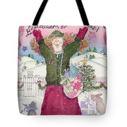 Praise The Lord Christmas Tote Bag
