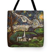 Praise To The Light Tote Bag