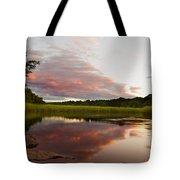 Pratt Cove Sunset Tote Bag