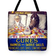 Pratts Healing Ointment Tote Bag