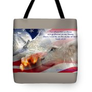 Pray For Our Nation Tote Bag