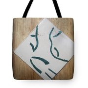 Prayer - Tile Tote Bag