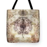 Prayer Flag 26 Tote Bag by Carol Leigh