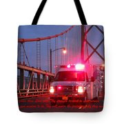 Prayer For Emergency Health Care First Responders Tote Bag