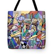 Prayer In School Tote Bag