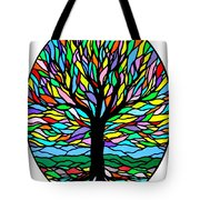 Prayer Tree Tote Bag