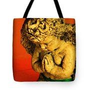 Praying Angel Tote Bag by Susanne Van Hulst