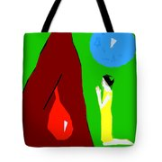 Praying For A Miracle Tote Bag