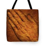 Praying Hands Tote Bag by Don Hammond