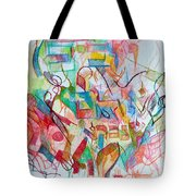Precious Is Man For He Is Created In The Divine Image 3 Tote Bag