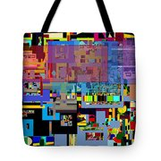 precious is man for he is created in the Divine Image 6 Tote Bag by David Baruch Wolk