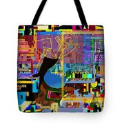precious is man for he is created in the Divine Image 8 Tote Bag by David Baruch Wolk