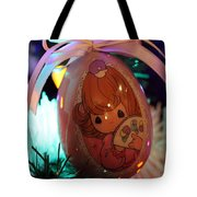 Precious Moments Christmas Ornament Tote Bag