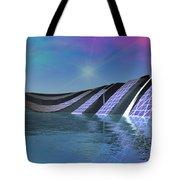 Precious Water Alien Landscape Tote Bag