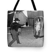 Precision Knife Throwing Tote Bag