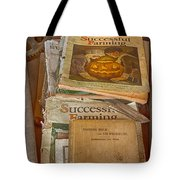 Preferred Reading Material Tote Bag