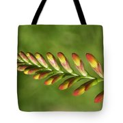 Prehistoric Flower Tote Bag