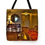 Premier Balcony Suite At The Sagamore Tote Bag