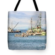 Prepared For Action Tote Bag