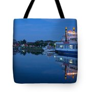 Prerow Hafen Tote Bag