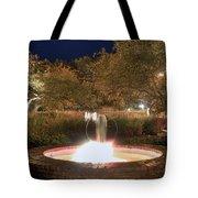 Prescott Park Fountain Tote Bag