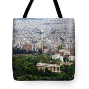 Present Day Ruins Tote Bag