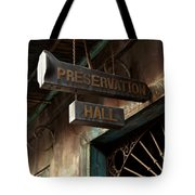 Preservation Hall Tote Bag