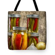 Preserved Peppers Tote Bag