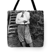 President Harding Playing Golf Tote Bag