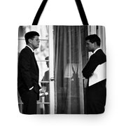 President John Kennedy And Robert Kennedy Tote Bag