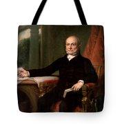 President John Quincy Adams  Tote Bag by War Is Hell Store