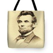 President Lincoln Tote Bag