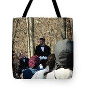 President Lincoln Speaks Tote Bag