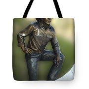 President Ronald Reagan Statue Tote Bag