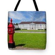 Presidential Palace Berlin Germany Tote Bag