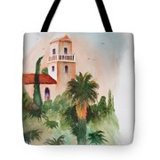 Presidio Park San Diego Tote Bag
