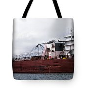 Presque Isle Freighter Tote Bag