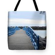 Presque Isle Pier Tote Bag
