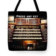 Press Any Key Tote Bag