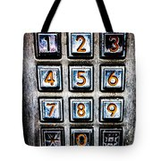 Press Three And Try Again Tote Bag