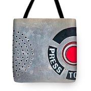 Press To Order Tote Bag